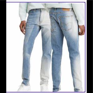 33 30 Levi's 512 Jeans Slim Acid Wash 288330657